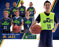 11 Junior Jazz Team Poster